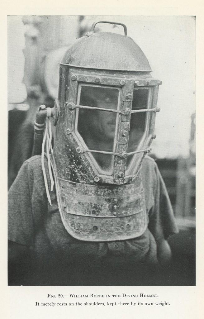 Beebe in diving helmet_Arcturus Adventure