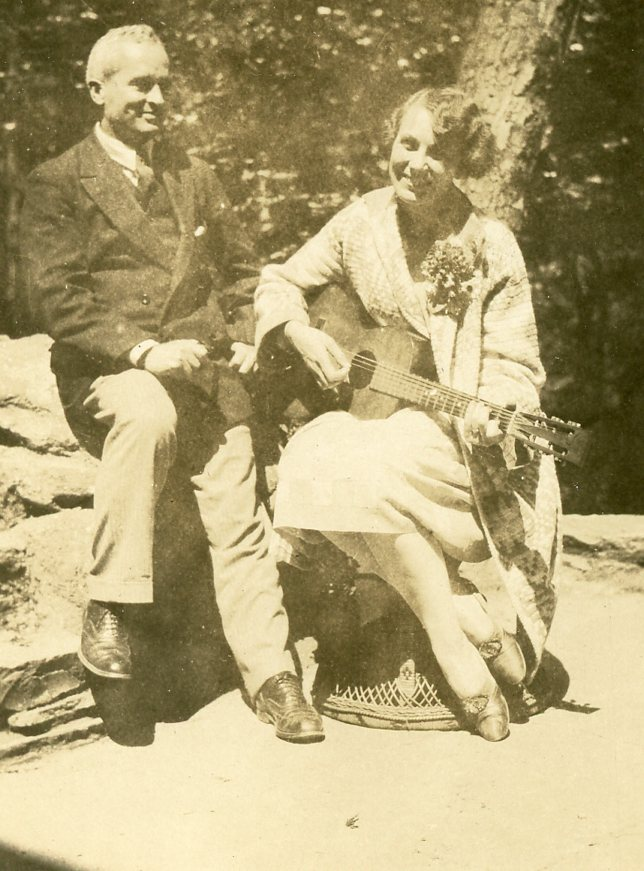 Dorothy Binney Putnam and Charles D. Mahaffie in May 1927